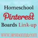 Homeschool Pinterest Boards Link-up