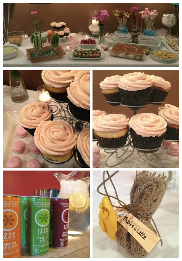 Spa Themed Party Food All