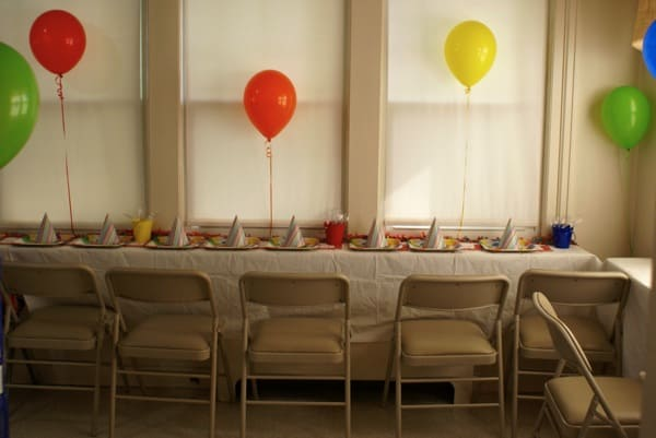 Simple Balloon Decor