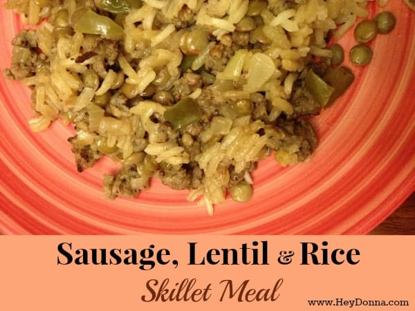 Sausage Lentil Rice Recipe