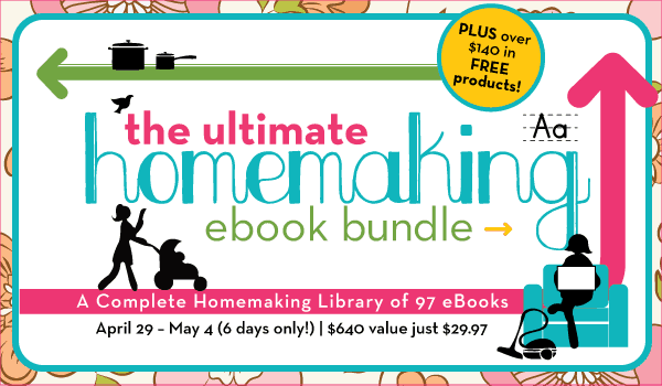 Post image for A Complete Homemaking Ebook Library – 97 Ebooks for just $29.97