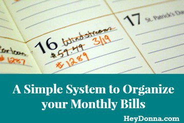 Organize Monthly Bills with HeyDonna.jpg
