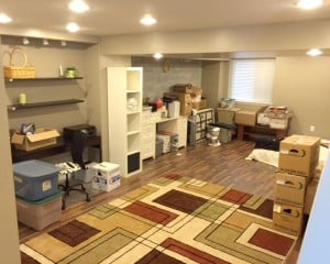 Our New Homeschool Room – Before
