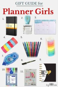 Gifts for Planner Girls