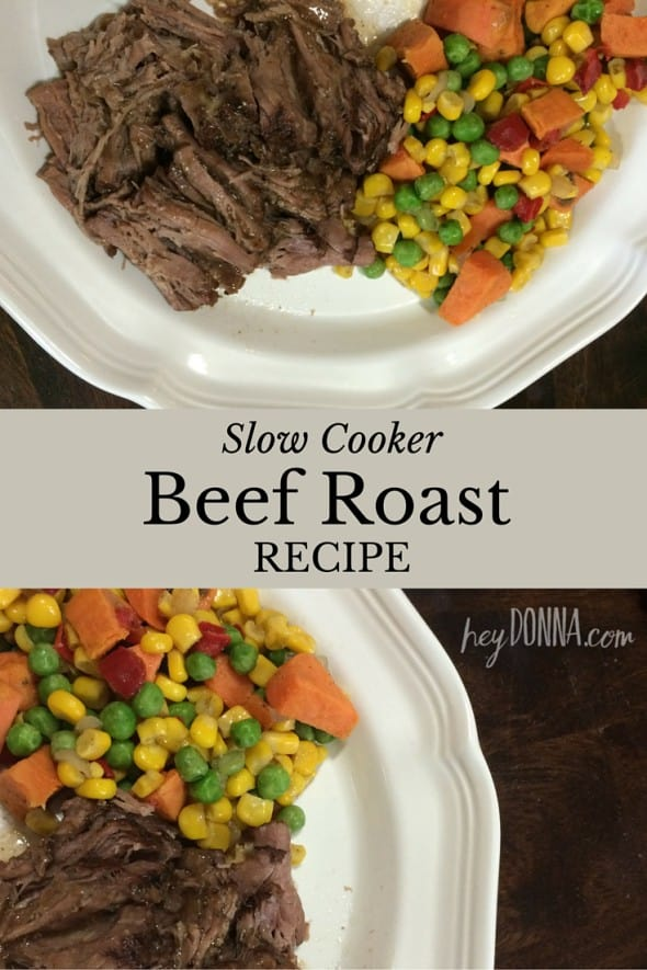 Slow Cooker Beef Recipe