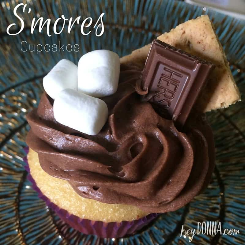 S Mores Cupcakes Hey Donna