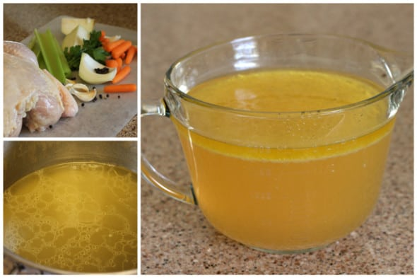 Chicken Stock in the Instant Pot