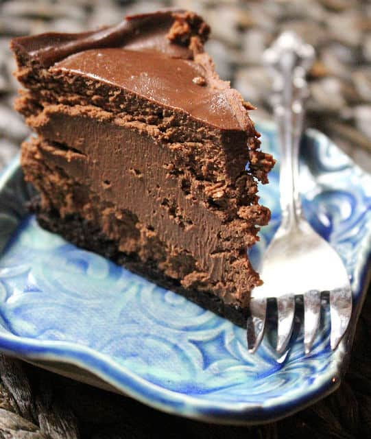 Chocolate Cheesecake recipe for the Instant Pot