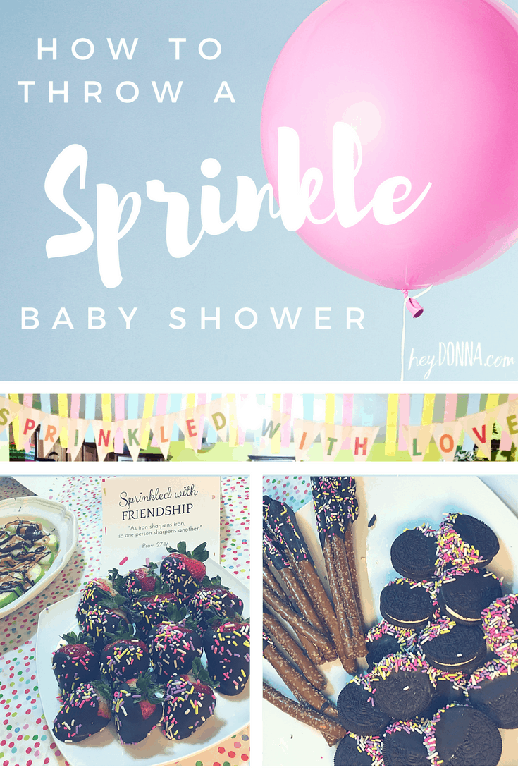 Sprinkle Baby Shower Ideas