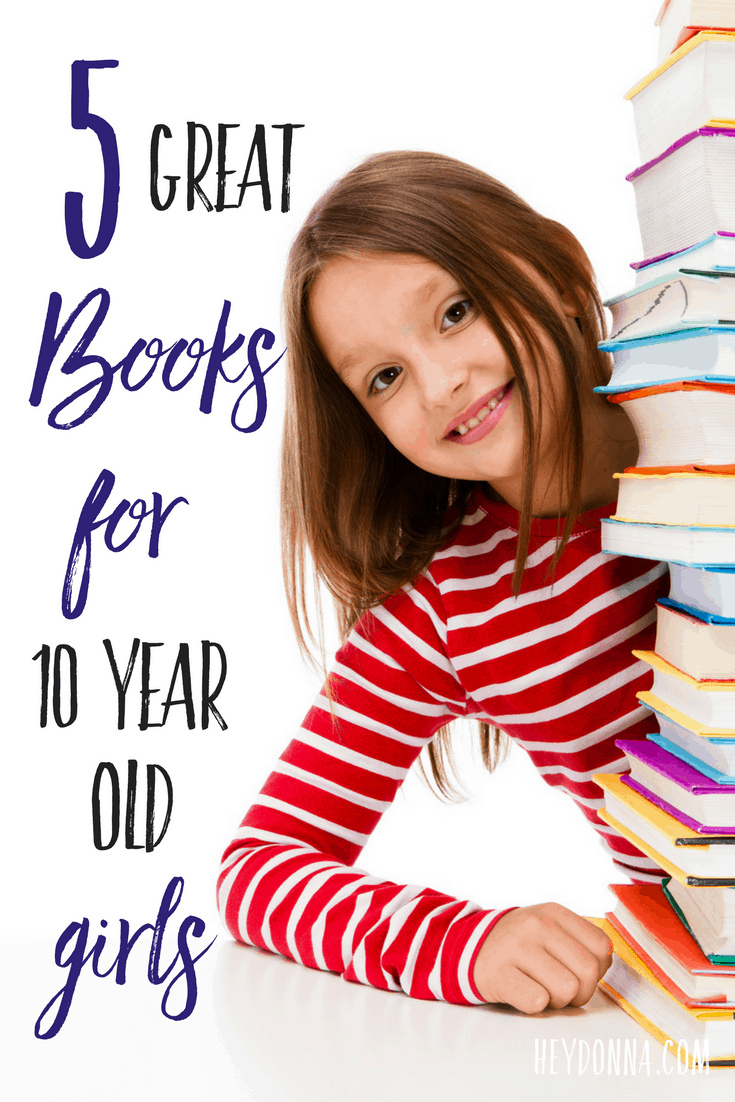 5 great books for 10 year old girls hey donna for Best craft books 2017