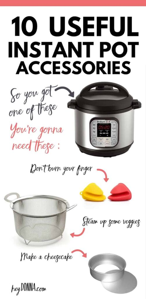 Useful Instant Pot Accessories